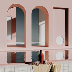 Cape Town-based digital artist Alexis Christodoulou has generated a cult following on Instagram with his images of imaginary spaces in pale blues, pinks and yellows.
