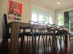 Phillipe Starck Masters Chairs.