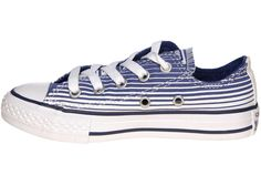 fc9f91e962637d Converse Kids All Star Ox Roadtrip Blue And Cream