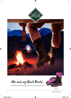 Muck Boots perfect for when your camping or  off on a walk