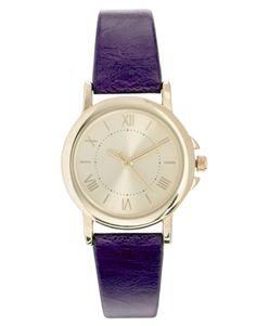 ASOS Vintage Dial Strap Watch 20