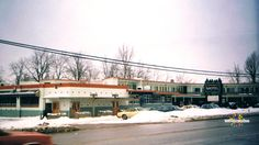 Evergreens Motel, located on Highland Road in Kitchener, now demolished.