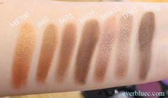 Everbluec | Singapore Beauty makeup and skincare blog: Make Up For Ever Artist Shadow Collection + Swatches