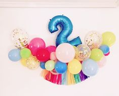 Party Deco, Birthday Decorations, First Birthdays, Decor Ideas, Instagram, Yellow Balloons, Christening, Party, Pictures