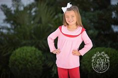 Mitzy Sue Set - Richmond Red with Hamptons Hot Pink - The Beaufort Bonnet Company