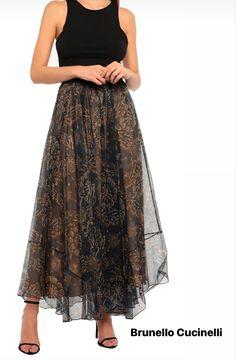 Waist Skirt, Lace Skirt, High Waisted Skirt, Brunello Cucinelli, House Styles, Skirts, Fashion, Moda, Skirt