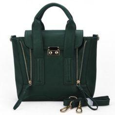 Green Lock Zipper Bag