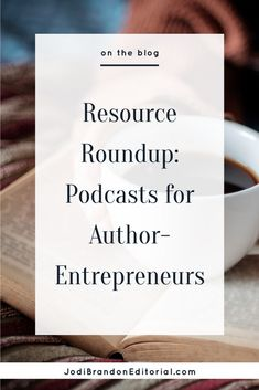 Who doesn't love a good podcast? I have several that I love for business in general, but I also have several that are book-related or publishing-related. With the holidays coming and perhaps some downtime on the horizon (ha!), I wanted to share my favorites with you. If you're not sure where to start, I've included some favorite episodes.  |  Jodi Brandon Editorial