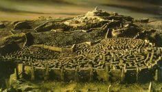 Laberintos: El arte de perderse. Escena de Dentro del laberinto. Imagen: The Jim Henson Company / Lucasfilm / TriStar Pictures.
