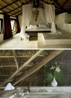 Coqui Coqui is a 7-room boutique eco-hotel, spa and perfumery in Tulum, Mexico