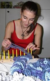 Výsledek obrázku pro pletené šály návod