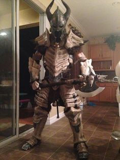 Skyrim Dragonbone Armor