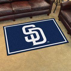 MLB - San Diego Padres 4'x6' Rug