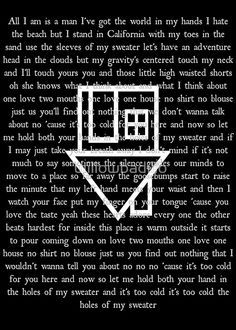 "The Neighbourhood, ""Sweater Weather"""