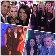 Supporting Serving People in Need (SPIN) charity event at AnQi by the house of An with Terri Nunn, Daryl Nelson, Elizabeth An, Alex Thicke, Candice Glover and Terrance Howard.