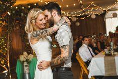 Thrifty Maine Cornfield Wedding: Myles & Cait