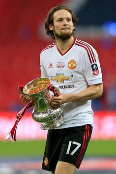 Manchester United defender Daley Blind shocked after Louis van Gaal shown the… Manchester United Fa Cup, Daley Blind, Fc 1, Premier League Champions, Best Club, Latest Sports News, Europa League, Man United, Best Player