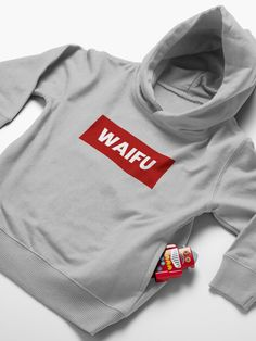 """""""Waifu"""" Toddler Pullover Hoodie by yoloforever 
