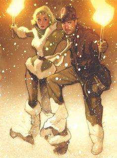 Indiana Jones by Adam Hughes