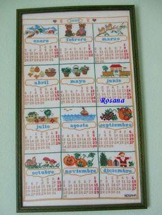 Mi primer cuadro .. Calendario 1998