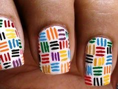 ▶ Nail Art Designs How To With Nail designs and Art Design Nail Art About Cute Beginners Nails - YouTube
