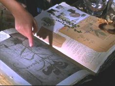 The Aunts' Book of Shadows from the movie Practical Magic.  Love all the botanical drawings in this fabulous made for cinema book!