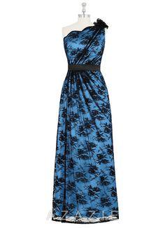 1173c868ff AZAZIE CASSANDRA. The fantastic floor-length bridesmaid dress by Azazie has  a sheath