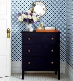 3 Stylish wooden chest - 6 must-try IKEA hacks for your home