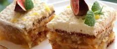 Jablečné řezy FANTAZIE | NejRecept.cz 20 Min, Kefir, Cheesecake, Food And Drink, Pudding, Treats, Desserts, Author, Bebe