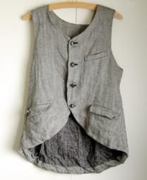 vest/// Love this vest!!!! Humble, quiet strength, quiet and soothing colors, softness, a balm to my soul....