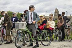 Tweed Ride Madrid 2013.   Foto: FJ Bonilla