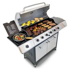 The best gas grills reviewed.