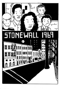 Artist Mike Funk renders the 1969 Stonewall Uprising, considered the birth of the modern LGBT civil rights movement, in a comic book available on his Flickr.