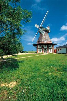 Village of Lichtenhagen near Rostock, Baltic Sea Coast