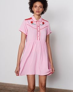 Lazy Oaf Western Rose Dress - Everything - Categories - Womens
