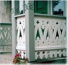 Mønster Scandinavian Style Home, Scandinavian Design, Pergola, Beautiful Architecture, Architecture Details, Porch Balusters, Porches, Front Porch Addition, Victorian Porch