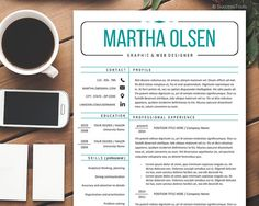 Professional Resume TemplateCreative Resume for MS by SuccessTools