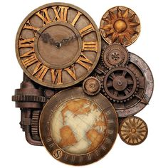 Cool world clock.