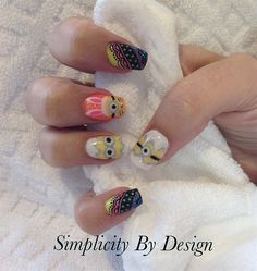 Day 95: Easter Sunday Nail Art - - NAILS Magazine