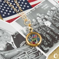 United States Military inspired lockets by Origami Owl. Every Origami Owl Locket tells a story....What's yours? All charms $5 https://lucretia.origamiowl.com
