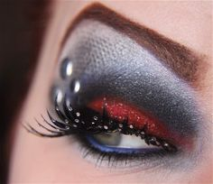 Thor inspired makeup
