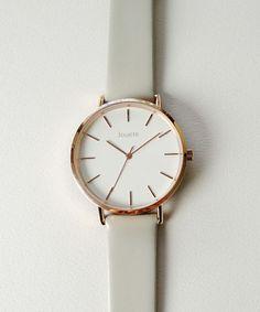 【ZOZOTOWN|送料無料】Jouete(ジュエッテ)の腕時計「タイムピース ビッグフェイス グレー×ピンク」(089023)を購入できます。