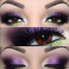 Great look! Purple and Green! Love it! https://www.facebook.com/stellaatyounique (without the green)