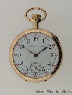 Genuine Vacheron Constantin Cowell Hubbard 14k Gold Ladies Pocket Watch