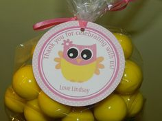 Owl Baby Shower Owl baby Shower Favor by APartyWithPaper on Etsy, $8.00