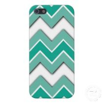 Shadow Zigzag. Unique, fashionable, trendy and pretty iPhone 5 case with popular and contemporary abstract ombre colored zig zag chevron pattern design. In Pantone color of the year 2013 emerald green. Cute and fun present for mom's birthday, Mother's day, Christmas gift, the girly girl, or those who want a classy, chic and cool phone cover. Also available for iPhone 3 and 4, Samsung Galaxy S2 and S3, iPod Touch, and Motorola Droid Razr.