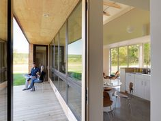The Foote Farm House by McLeod Kredell Architects with up to 4 bedrooms in 1500 sq ft | www.facebook.com/SmallHouseBliss