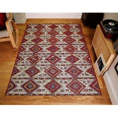 You'll love the Brittany Red/Ivory Area Rug at Wayfair.co.uk - Great Deals on all Home Furnishings  products with Free Shipping on most stuff, even the big stuff.