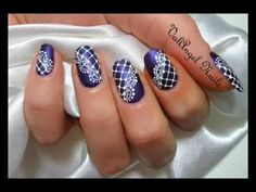 "Pinned by www.SimpleNailArtTips.com ADVANCED NAIL ART DESIGN IDEAS -  Nail Art Tutorial ""Merletto"""