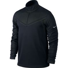 Nike Golf Hypervis Tour Performance Half Zip Cover Up Therma Fit Pullover